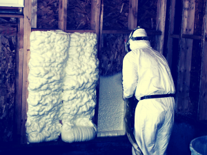 Sienų šiltinimas poliuretanu